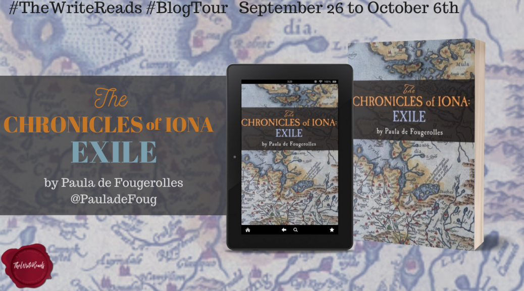 The Chronicles of Iona: Exile Blog Tour Dragons and Whimsy